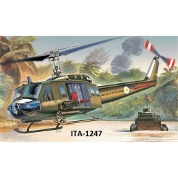ITA-1247 1/72  UH-1D SLICK . Calcas Españolas.