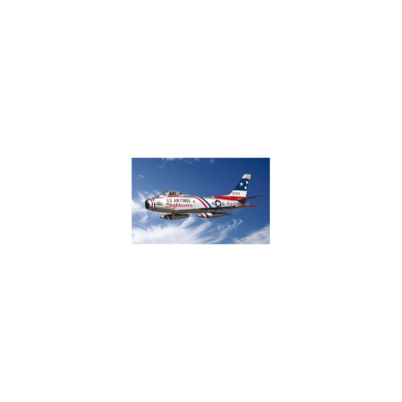 ITA-2684 ITALERI 2684 1/48 F-86 F SABRE JET SKYBLAZERS