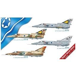 ITA-2688 ITALERI 2688 1/48 CAZA ISRAELI KFIR C1/C2