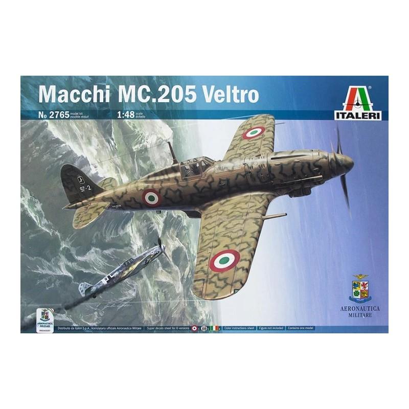 ITA-2765  Italeri 2765 1/48 Macchi MC.205 Veltro