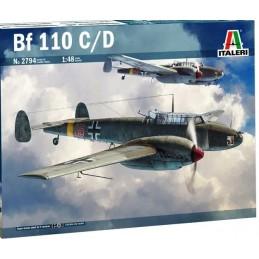 ITA-2794 Italeri 2794 1/48 Messerschmitt Bf-110 C/D