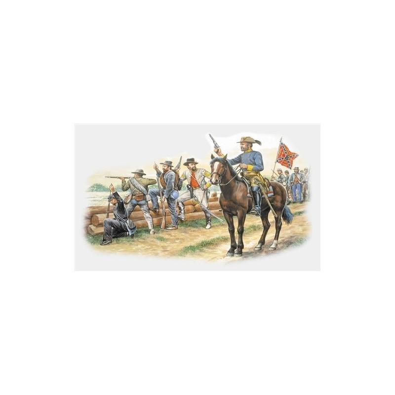 ITA-6014 ITALERI 6014 1/72 TROPAS CONFEDERADAS (1863), GUERRA CIVIL AMERICANA