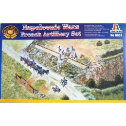 ITA-6031 Italeri 6031 1/72 French Artillery Set (Napoleonic Wars)