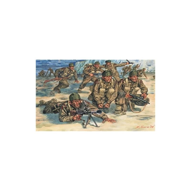 ITA-6064 ITALERI 6064 1/72 COMANDOS BRITANICOS, II GUERRA MUNDIAL