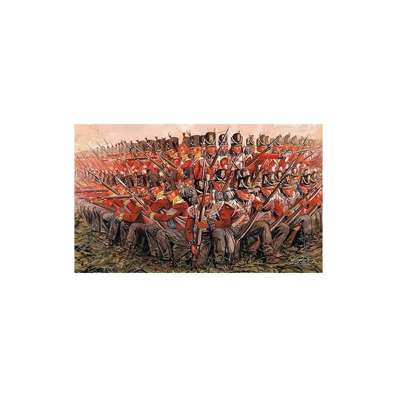 ITA-6095 ITALERI 6095 1/72 INFANTERIA BRITANICA 1815, GUERRAS NAPOLEONICAS
