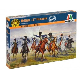 ITA-6188  Italeri 6188 1/72 British 11th Hussars