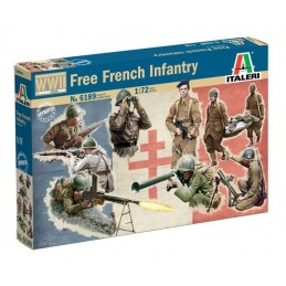 ITA-6189 Italeri 6189 1/72 Free French Infantry