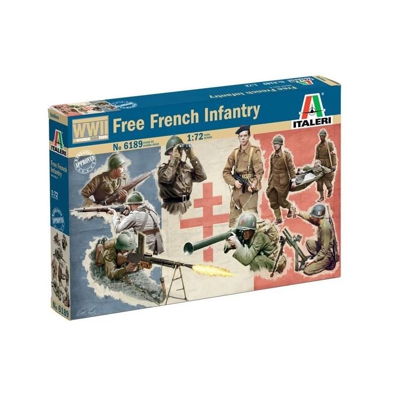 ITA-6189 Italeri 6189 1/72 Free French Infantry