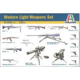 ITA-6421 ITALERI 6421 1/35 MODERN LIGHT WEAPON SET