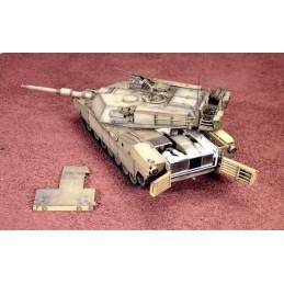ITA-6438 ITALERI 6438 1/35 ABRAMS M1 A1 +PZAS RESINA