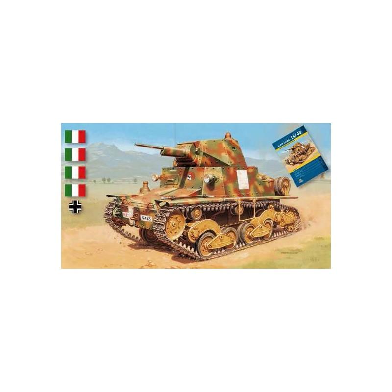 ITA-6469 ITALERI 6469 1/35 TANQUE LIGERO ITALIANO L6