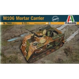 ITA-7069 Italeri 7069 1/72 M106 Mortar Carrier