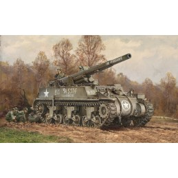 ITA-7076 Italeri 7076 1/72 M12 Motor Gun Carriage