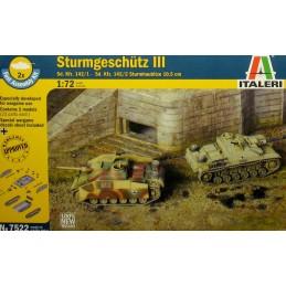 ITA-7522 Italeri 7522 1/72 Sd.Kfz. 142/1 Sturmgeschütz III Ausf. F