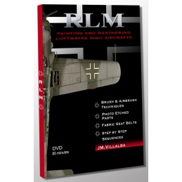 JMV-DVD RLM DVD PAINTING AND WEATHERING LUFTWAFFE WWII