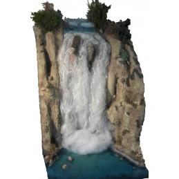 JO-803 Creación de la caída del agua (cascada) fijada