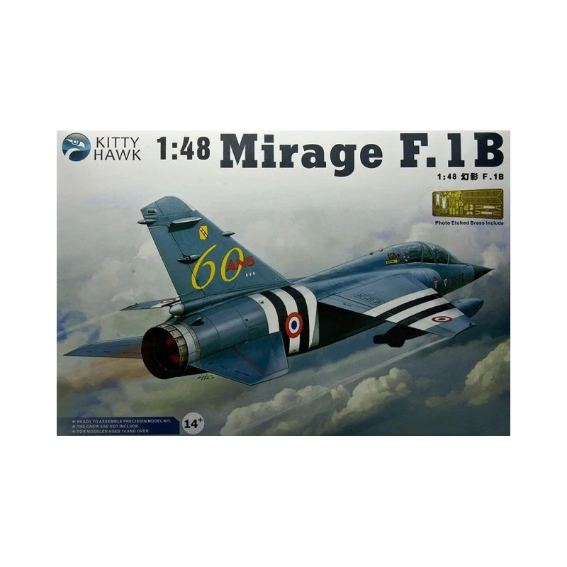 KH-80112 Kittyhawk 80112 1/48 MIRAGE F.1B