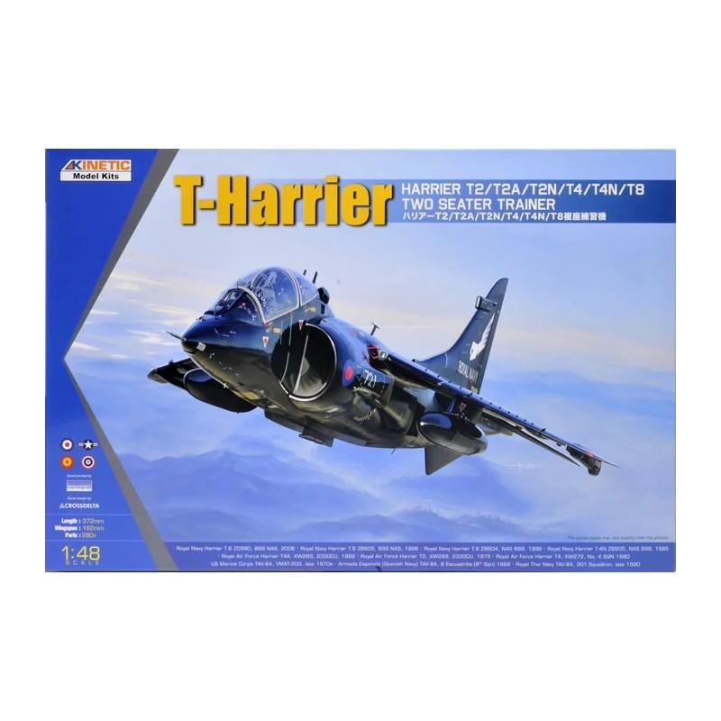 KIN-48040 Kinetic 48040 1/48 T-Series Harrier Two-Seat