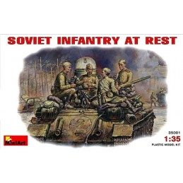 MA-35001 1/35 Soviet Infantry at Rest