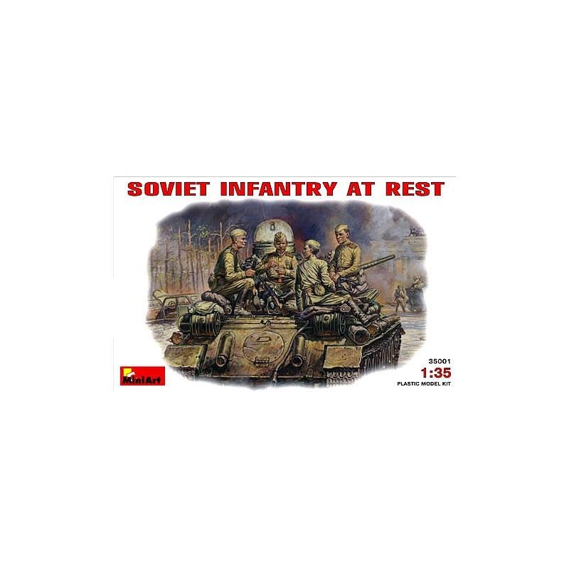MA-35001 1/35 Soviet Infantry at Rest