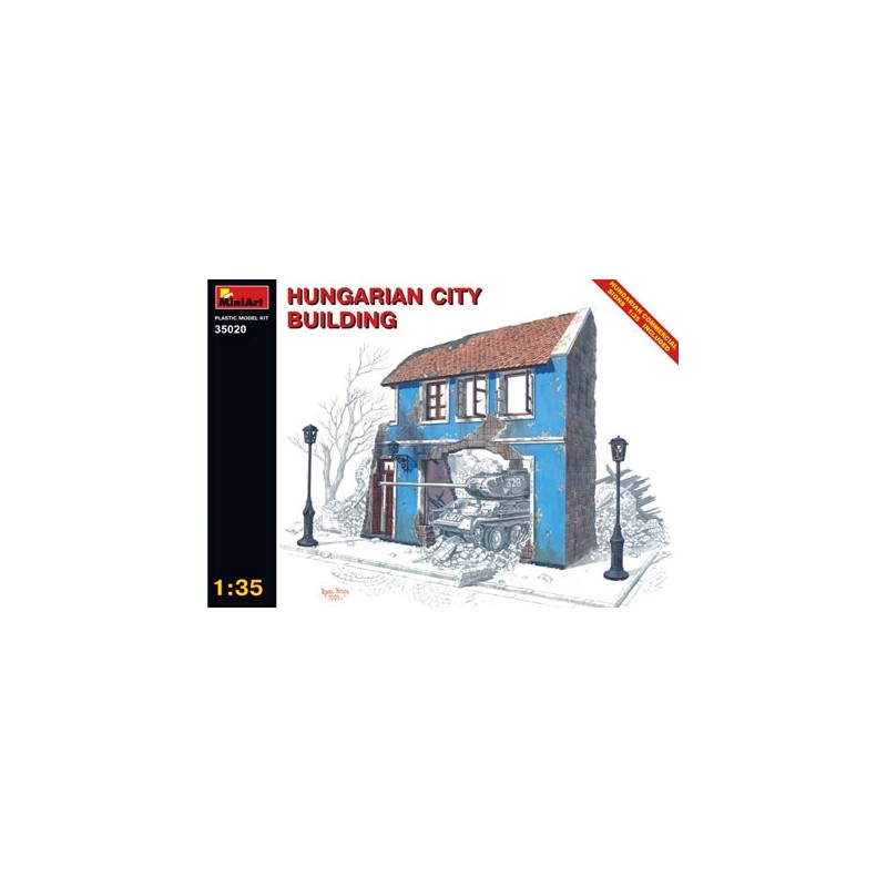 MA-35020 1/35 Hungarian City Building