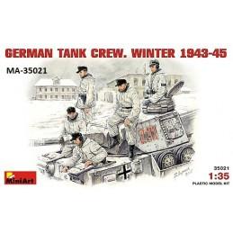 MA-35021 1/35 German Tank Crew(winter 1943-1945)