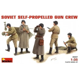 MA-35037 1/35	SOVIET SELF-PROPELLED GUN CREW