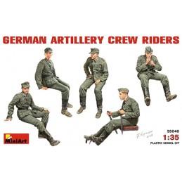 MA-35040 Miniart 35040 1/35 German Artillery Crew Riders