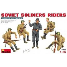 MA-35055 1/35 Soviet Soldiers Riders