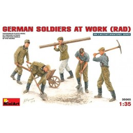 MA-35065 1/35 German Soldiers at Work