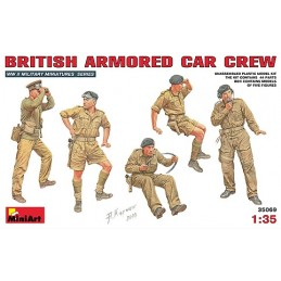 MA-35069 MiniArt 35069 1/35 British Armoured Car Crew