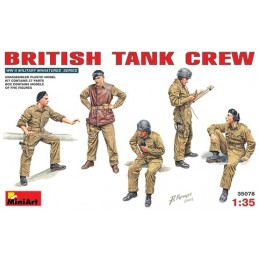 MA-35078 1/35 British Tank Crew NW Europe