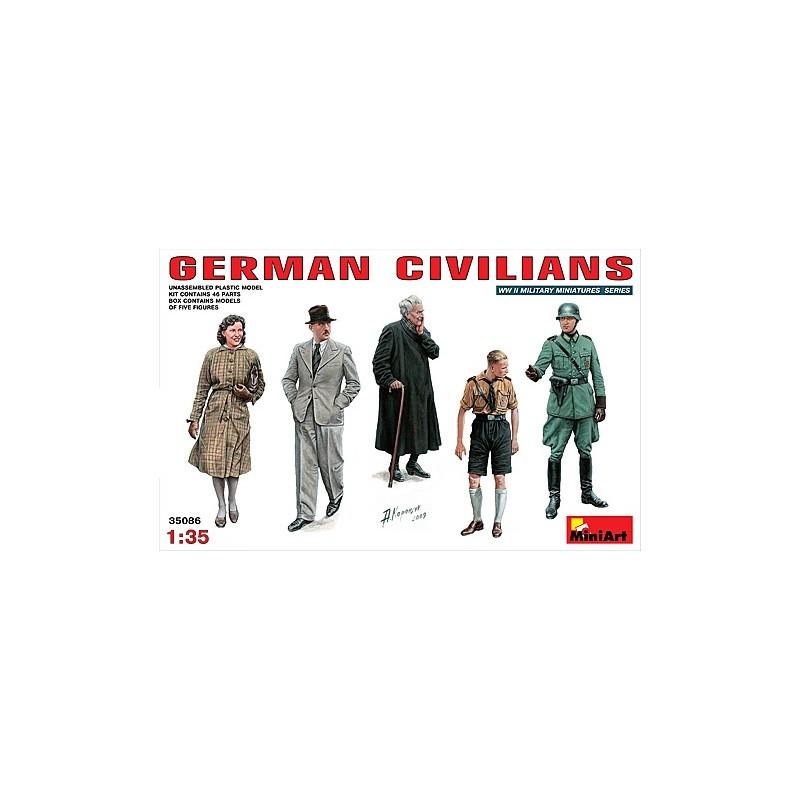 MA-35086 1/35 German Civilians