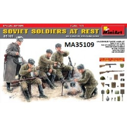 MA-35109 1/35 Soviet Soldiers at Rest Special Edition