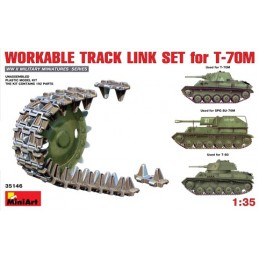 MA-35146 1/35	Workable Track Link Set for T-70M Light Tank