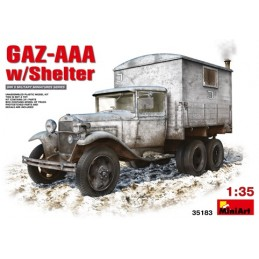 MA-35183 1/35 GAZ-AAA with Shelter+fotograbados