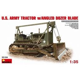 MA-35184 1/35 U.S. Army Tractor w/ Angle Dozer Blade+fotograbados