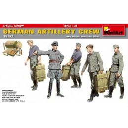 MA-35192 ma-35192 1/35 MiniArt 35192 GERMAN ARTILLERY CREW