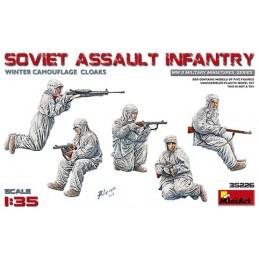 MA-35226 MINIART 35226  1/35 Soviet Assault Infantry (Winter Camouflage Cloaks)