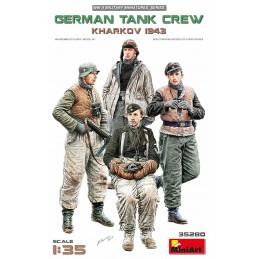 MA-35280 MINIART 35280 1/35 German Tank Crew.Kharkov 1943
