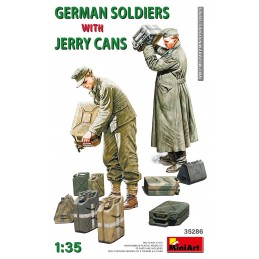 MA-35286 MiniArt 35286 1/35 German soldiers with jerry cans