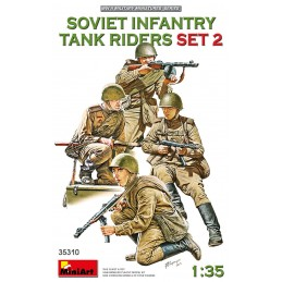 MA-35310 MiniArt 35310 1/35 Soviet Infantry Tank Riders (Set 2)