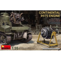 MA-35321 MINIART 35321 1/35.Continental R975 Engine