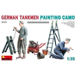 MA-35327 MiniArt 35327 1/35 German Tankmen Painting Camo