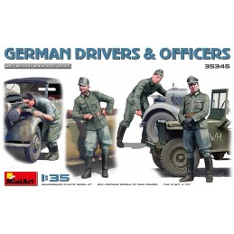 MA-35345 MiniArt 35345 1/35 German Drivers  Officers