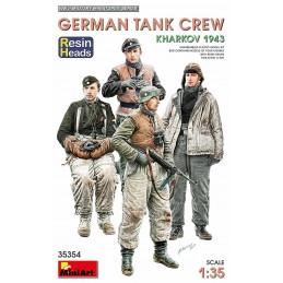 MA-35354 MiniArt 35354 German Tank Crew. Kharkov 1943. (Resin Heads)