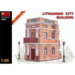 MA-35504 1/35 Lithuainan City Building