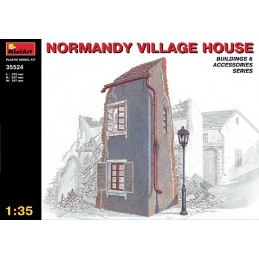 MA-35524 1/35 Normandy Village House
