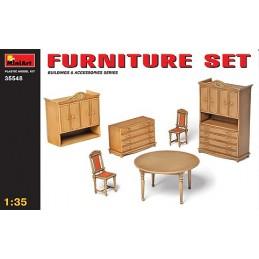 MA-35548 miniart 35548 1/35 Furniture Set