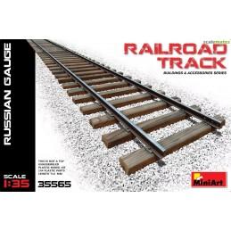 MA-35565 MINIART 35565  1/35  Railroad Track (Russian Gauge)